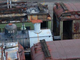 Trenes Viejos para Reciclaje