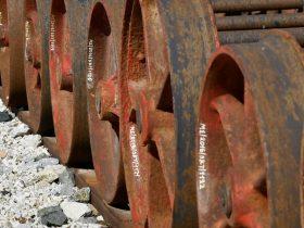Llantas de Trenes para Reciclado