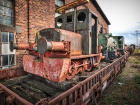 Tren Viejo para ser Reciclado