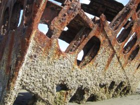 desguace de barcos para reciclaje