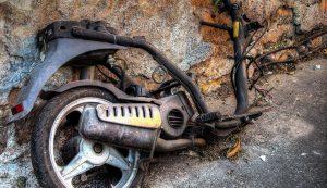 Chatarra de Motocicletas para Reciclado